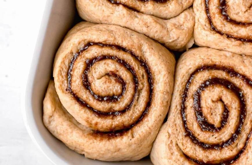 Best Healthier Cinnamon Rolls with Icing