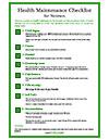 Health-Maintenance-Checklist