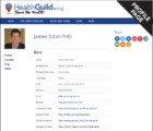 James Tobin PhD Profile Page