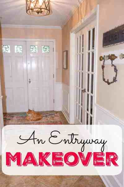 An Entryway Makeover