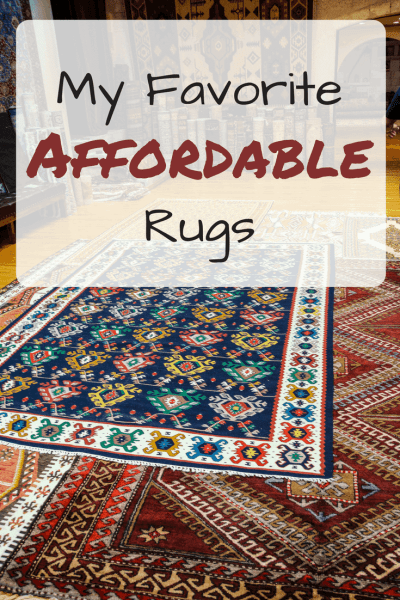 My Favorite Affordable Rugs