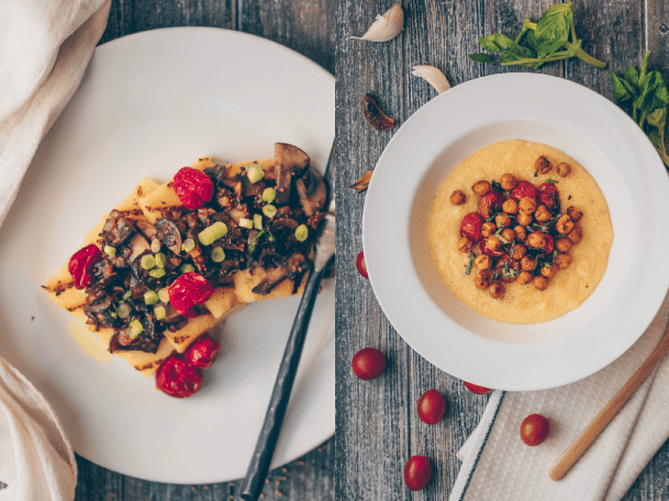 Polenta Two Ways: Creamy + Grilled