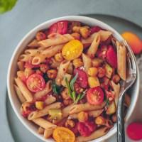 Spicy Italian Chickpea Pasta