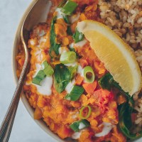 Easy Indian Lentil Dal