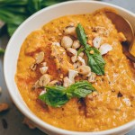 creamy sweet potato coconut stew
