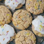 lemon funfetti cookies