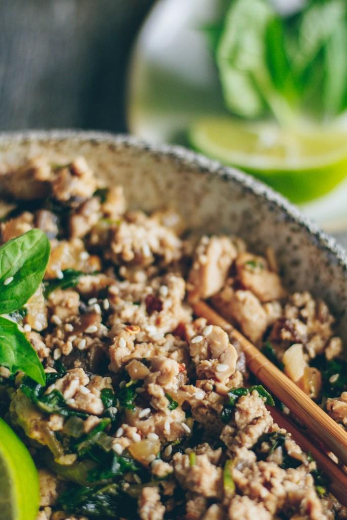 Thai-Inspired Basil Tofu