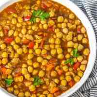 Chickpea Stew (Vegan, Gluten-free)