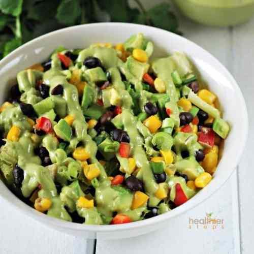 Vegan Lunch Recipes... Black Bean Salad