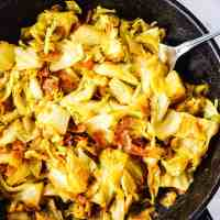 Vegan Southern Fried Cabbage