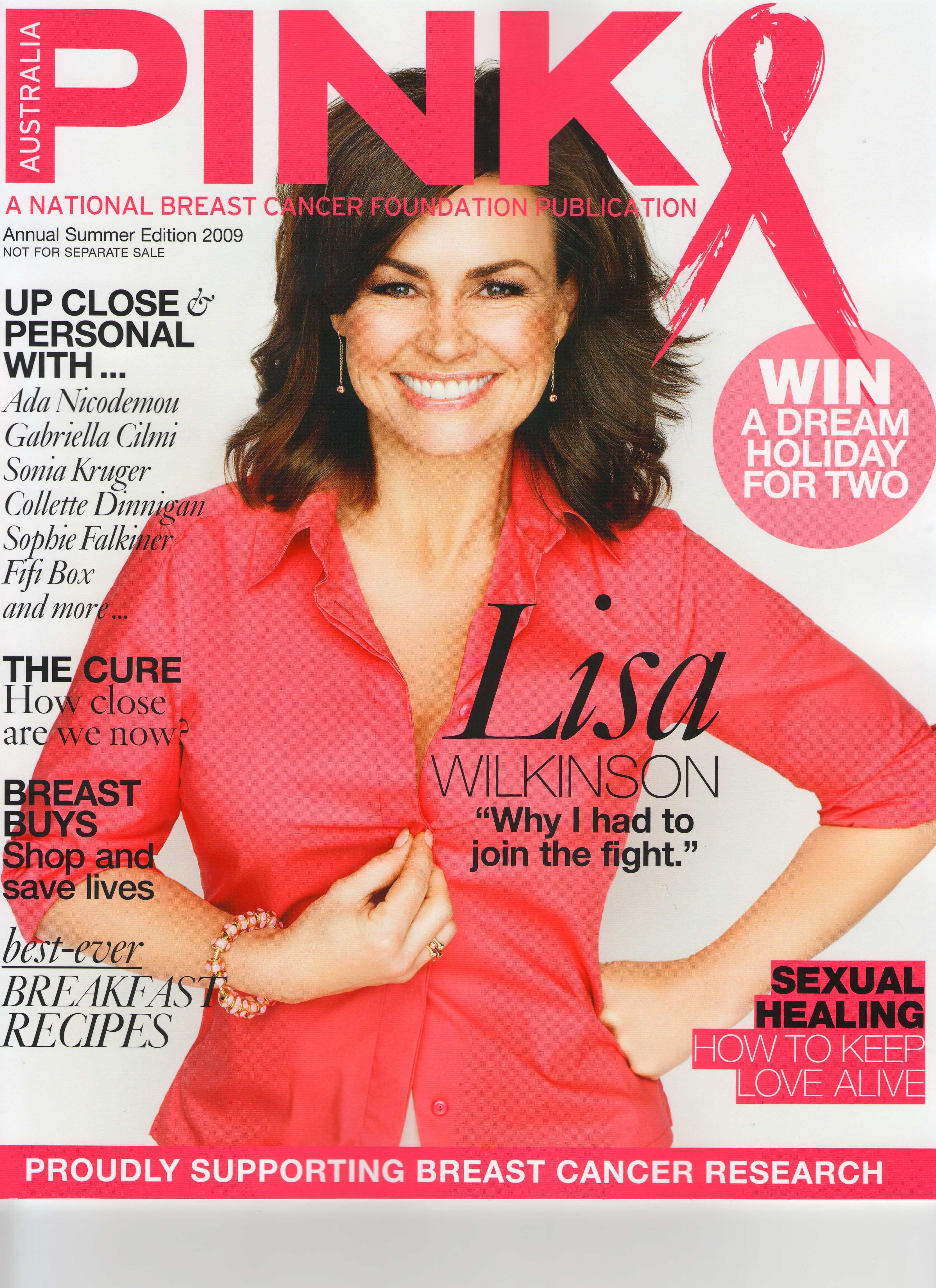 PINK Ribbon magazine 2009 - cover
