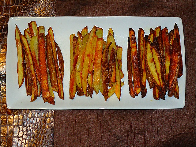 Taste Test Tuesday: Crispy Oven Baked Fries (1/6)