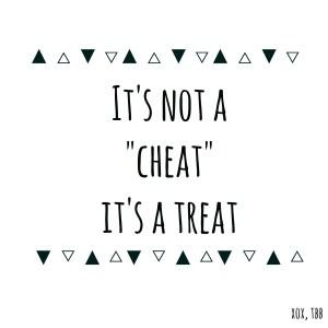 Binge en cheatdays