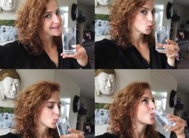 Genoeg water drinken