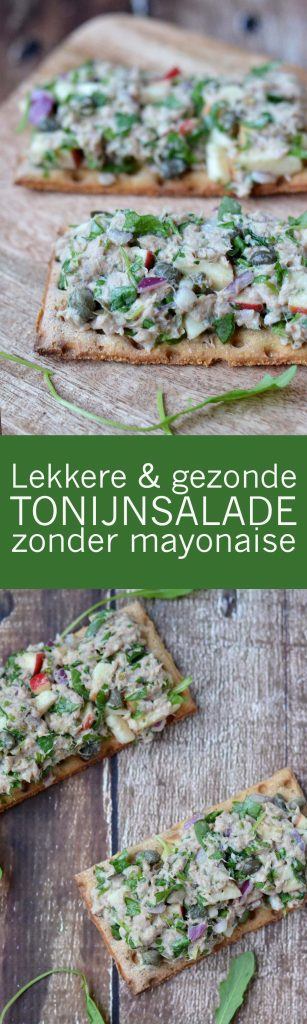 Heerlijke Gezonde Tonijnsalade Zonder Mayonaise!! Yum!!