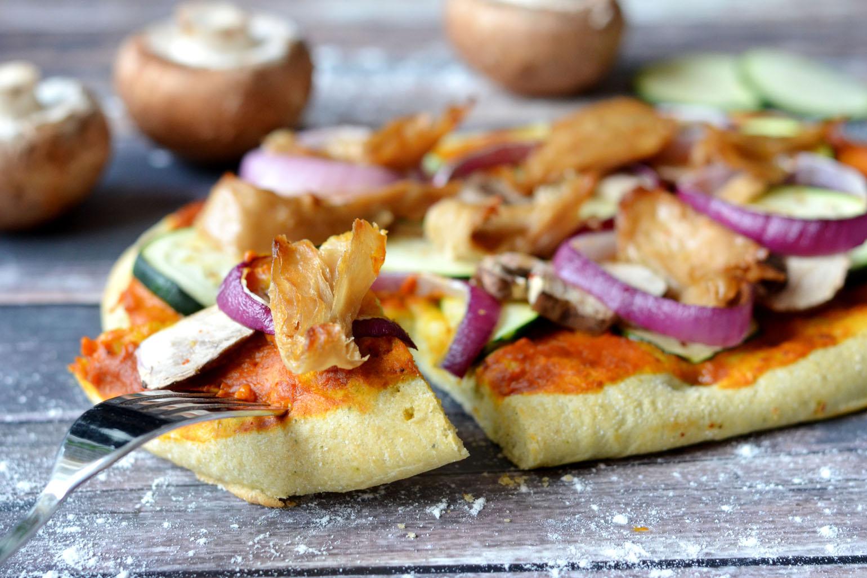 Gezonde pizza zonder kaas recept