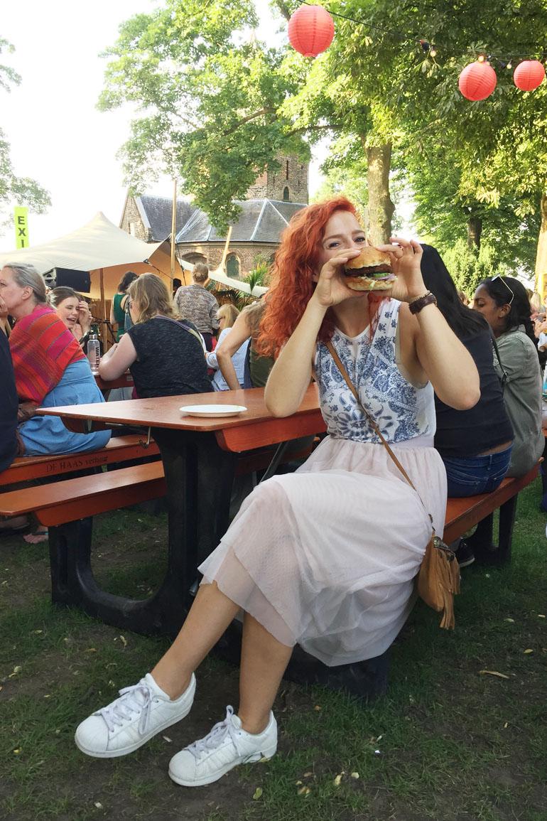 Vierdaagse feesten nijmegen vegan burger