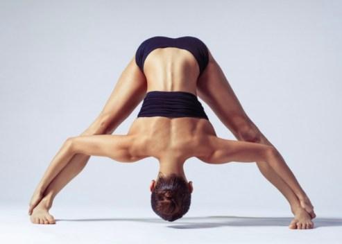 bikram yoga by woman