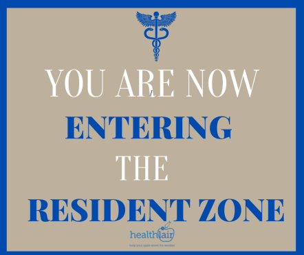 You are now Entering the Resident Zone