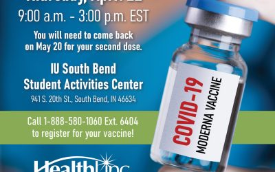 HealthLinc and IU South Bend Partner to Provide COVID-19 Vaccinations