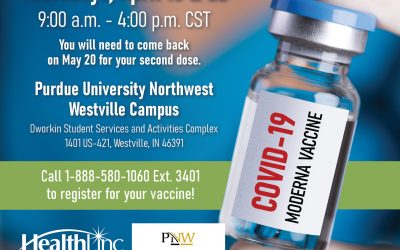 HealthLinc and Purdue University Northwest Partner to Provide COVID-19 Vaccinations