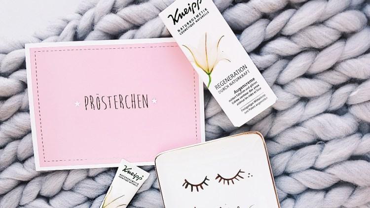 Kneipp Regeneration Augencreme Test Naturkosmetik Healthlove