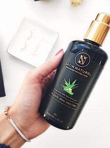 Satin Naturel Bio Aloe Vera Gel Naturkosmetik Test Healthlove