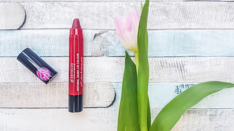 benecos Shiny Lip Lippenstift rot Healthlove Test
