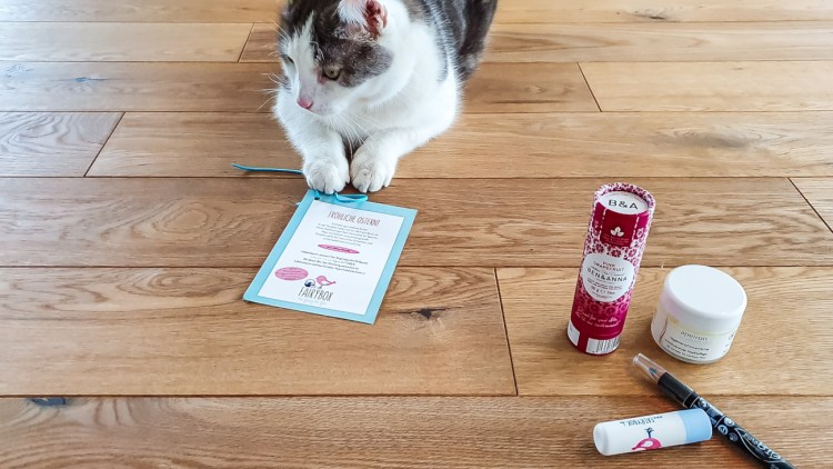 Fairybox April 2019 Katze Healthlove