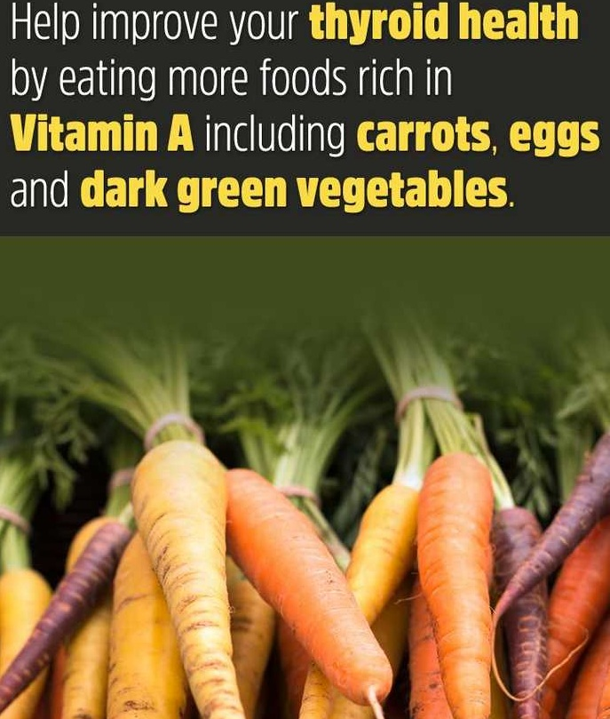hypothyroidism natural treatment carrot and eggs