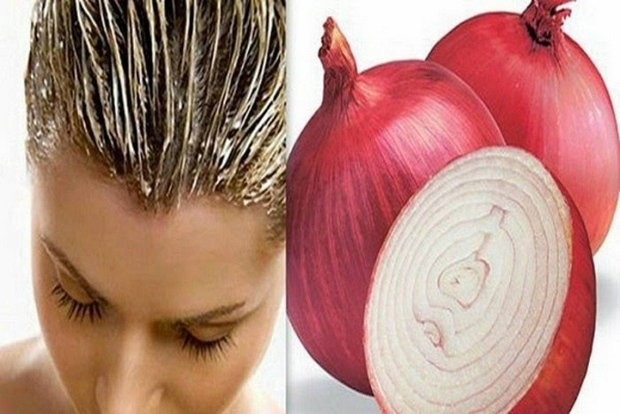 hair growth with onion-in homemade onion hair oil