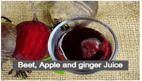 Beet, Apple and Ginger Juice