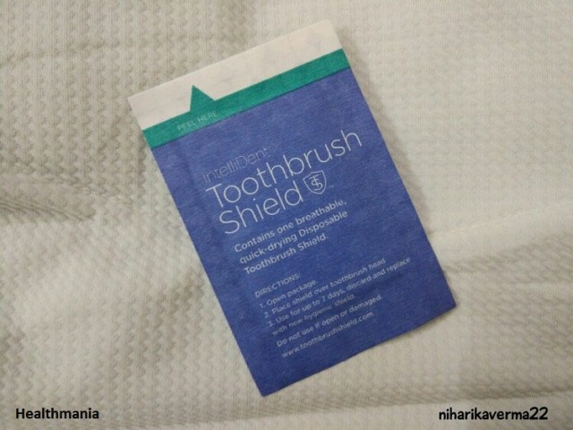 IntelliDent Toothbrush Shield