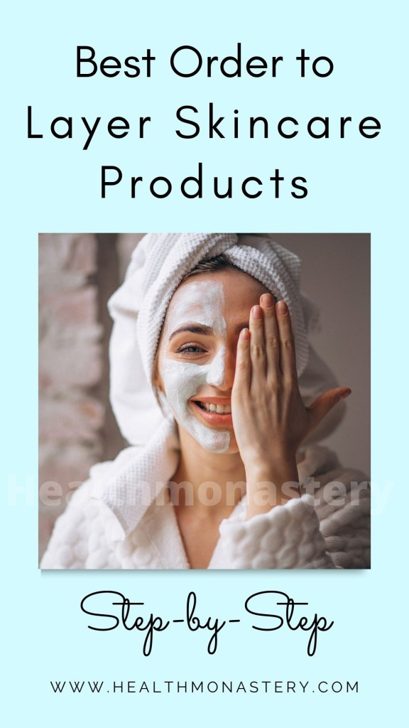 A girl with face mask for skincare routine
