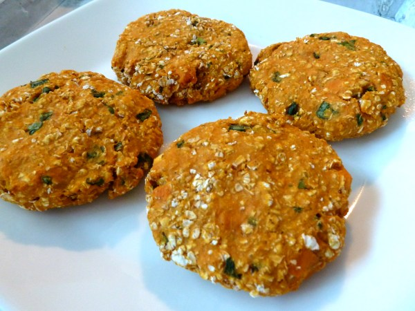 sweet potato veggie burger