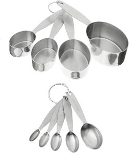 measuring spoons and cups