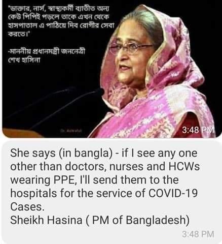 PM Bangladesh Sheikh Hasina