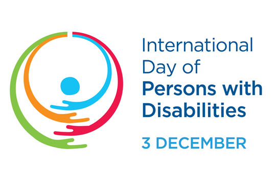 International day of Persons with Disabilities, 3rd December