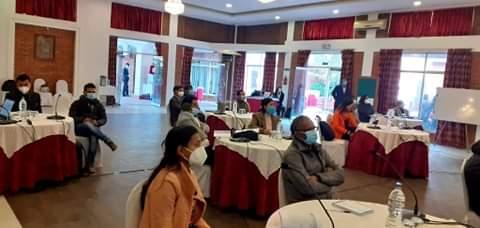 पुनर्स्थापना अभिमुखीकरण कार्यक्रममा सहभागी हरु