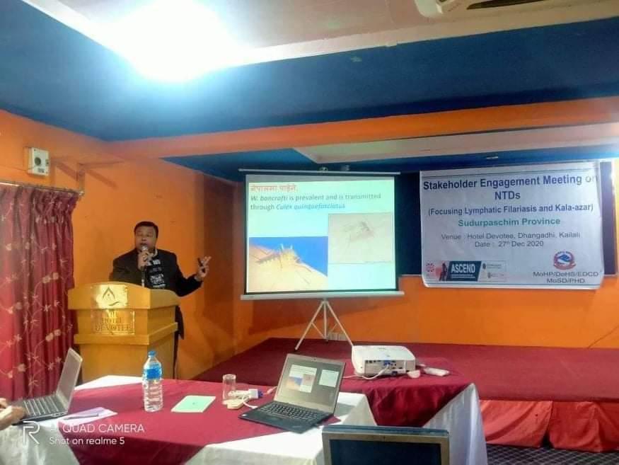 डा.प्रकाश प्रसाद शाह सेसन लिनु हुँदै