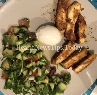 Low Carb Fried Halloumi Sticks