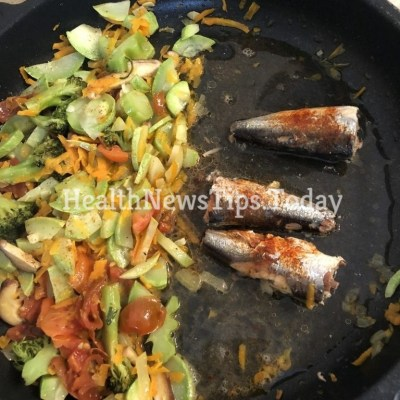 Mediterranean Sardines and Vegetables