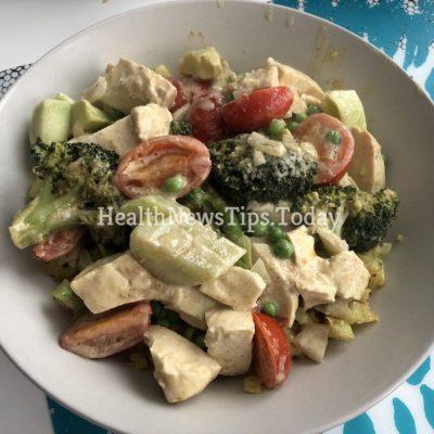 Vegetarian Yellow Curry with Tofu