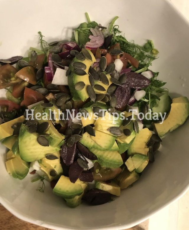 Healthy Chopped Salad – Mediterranean Style
