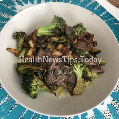 Minute Steak and Stir-Fry Vegetables