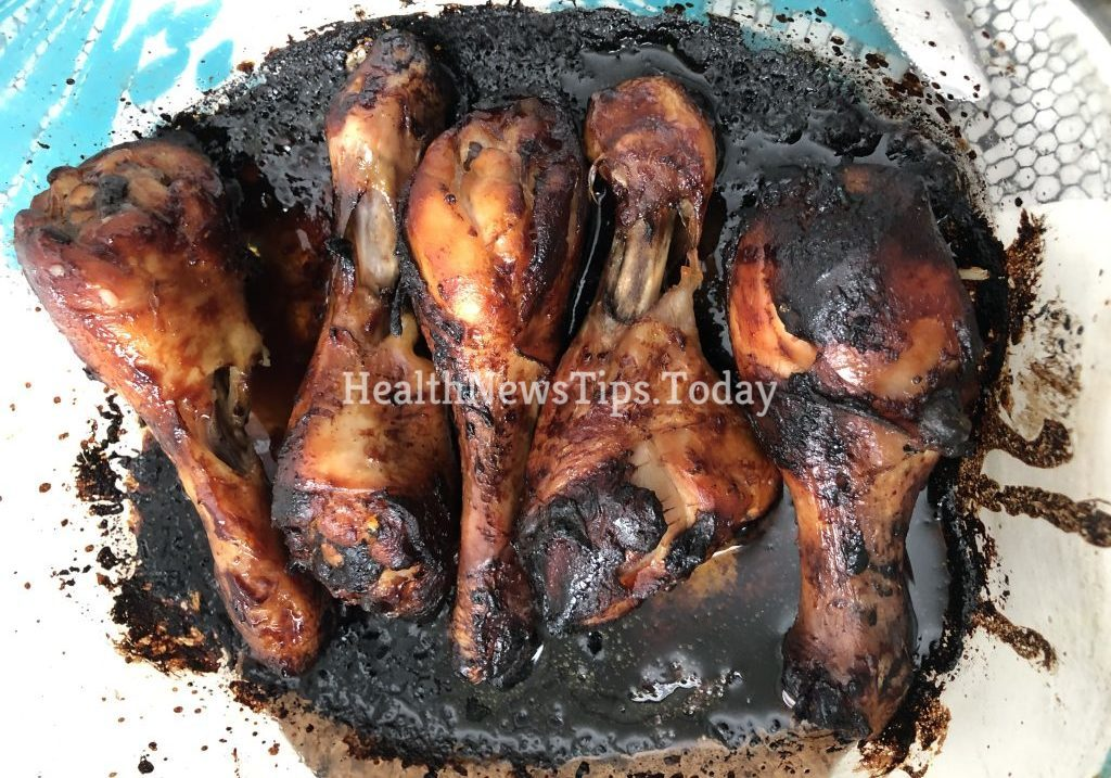 Chicken in Honey and Soy Marinade
