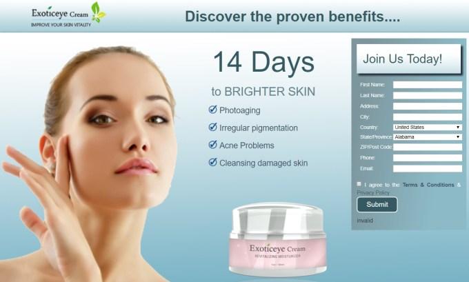Exoticeye Anti Aging Cream