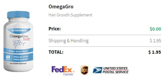 OmegaGro DHT Hair