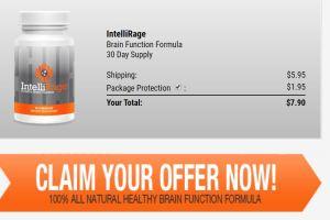Intellirage Brain Booster Supplement pills