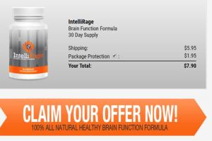 Intellirage Brain Booster Supplement pills